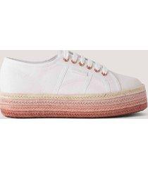 superga chunky sneakers - white