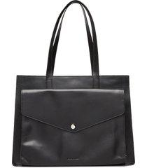 new conductor business shopper bags top handle bags zwart royal republiq