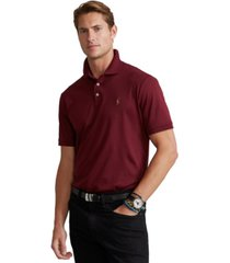 polo ralph lauren men's custom slim fit soft cotton polo shirt