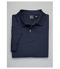traveler collection short-sleeve pique men's polo shirt - big & tall