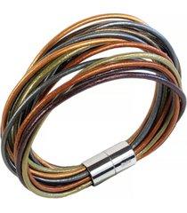 suki matisse women's leather bracelet stephan