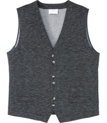 gilet di jersey (grigio) - bpc selection