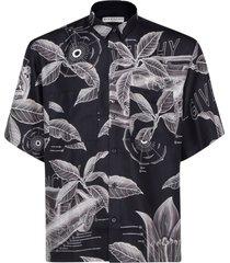 camicia uomo maniche corte schematics