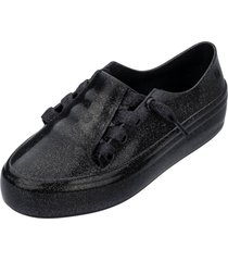 tãªnis melissa menina mel ulitsa sneaker special inf preto - preto - menina - dafiti