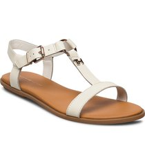 feminine leather flat sandal shoes summer shoes flat sandals vit tommy hilfiger