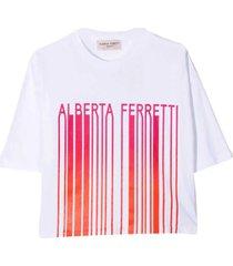 alberta ferretti teen t-shirt with print