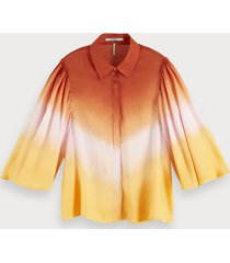 scotch & soda ombre blouse