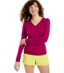 charter club v-neck cashmere sweater