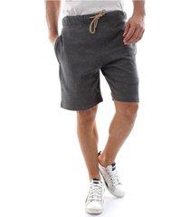 diesel 00st2a 0cand umlb-pan shorts and bermudas longwear men mid grey