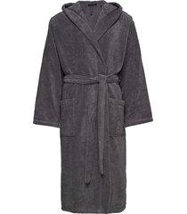 bath robe ochtendjas badjas grijs schiesser