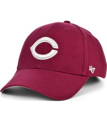 '47 brand cincinnati reds cardinal mvp cap