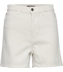shorts naomi white shorts denim shorts vit lindex