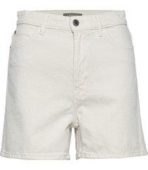 shorts naomi white shorts denim shorts vit lindex