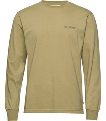 casual long sleeve tee t-shirts long-sleeved grön han kjøbenhavn