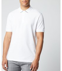 hugo men's daruso203 polo shirt - white - xxl