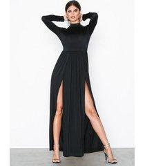 nly one double slit ls dress maxiklänningar