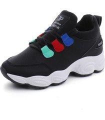 zapatos casuales de mujer zapatillas de plataforma