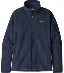 patagonia vest womens better sweater jacket neo navy-l