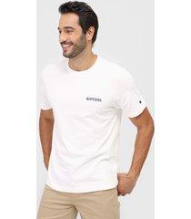camiseta rip curl big mamma off-white - off white - masculino - dafiti