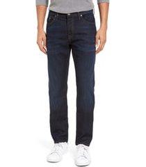 men's mavi jeans marcus slim straight leg jeans, size 42 x 32 - blue