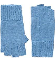 ribbed merino wool gloves