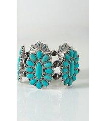 akira saddle up turquoise bracelet