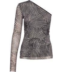 jamaica t-shirts & tops long-sleeved grijs baum und pferdgarten
