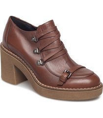 d adrya mid d shoes boots ankle boots ankle boots with heel brun geox