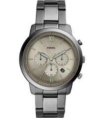 relógio fossil neutra chrono masculino