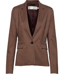 reginaiw zella blazer blazer colbert bruin inwear
