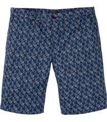 bermuda con cinta comoda regular fit (blu) - bpc selection
