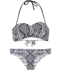 bikini rip curl black sands bandeau set