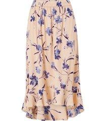 kjol pclillian midi skirt