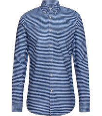 shirt skjorta casual blå united colors of benetton
