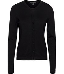 sweaters cardigan stickad tröja cardigan svart esprit collection