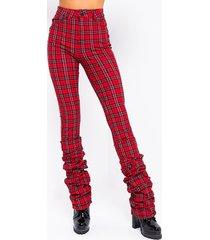 akira california stacked pants