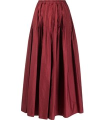 barena high-rise flared skirt