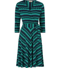 klänning celia multistripe jersey dress