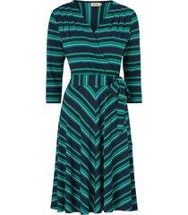 klänning celia multistripe jersey dress