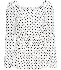 maglia fantasia con scollo quadrato (bianco) - bodyflirt