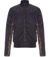 jaqueta masculina nylon - preto