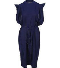 y/project y/project folded collar dress