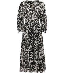 floral pattern cotton dress