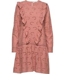 dress jurk knielengte roze sofie schnoor