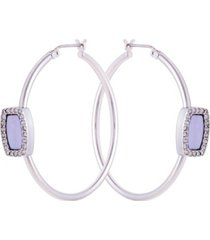 t tahari coastal beauty hoop earring