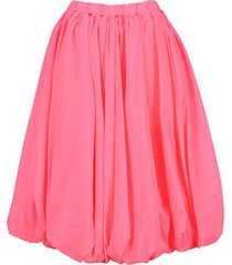 comme des garcons pleated mid lenght skirt