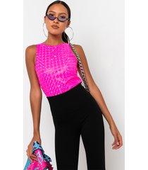 akira discotech sleeveless bodysuit