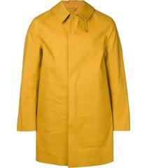 mackintosh arrowood bonded cotton short coat gr-002 - idj127 aw yellow