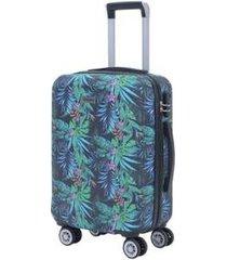 """mala de viagem mormaii pequena """"20 polegadas"""" estampada"""