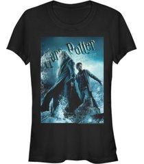fifth sun harry potter half-blood prince dumbledore poster women's short sleeve t-shirt